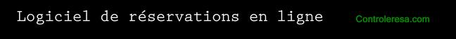 logiciel de r�servation